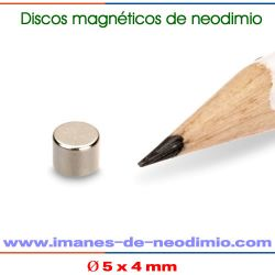 neodimio de disco magnético permanente