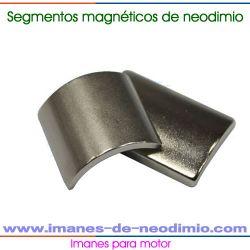 super imán de neodimio segmento motores