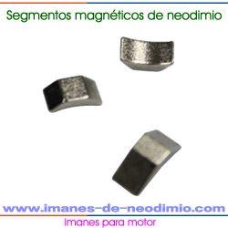 micro motor imanes de neodimio segmento