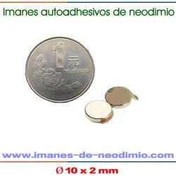imanes 3M disco de neodimio