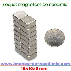 neodimio rectangulars