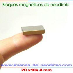 neodimio-hierro-boro bloque imanes