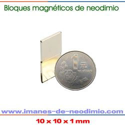 neodimio NdFeB imanes rectangular