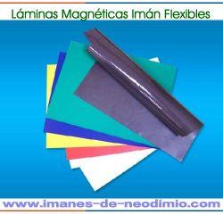 colorido de imanes flexibles