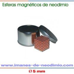 neocube de 216 bolas cobre
