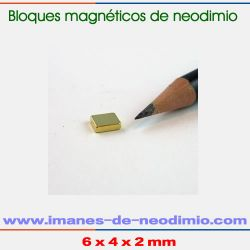 comprar imanes rectangular oro N33EH