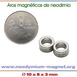 sinterizado NdFeB anillo imanes