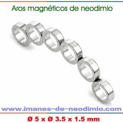 carcasas de polos magnéticas