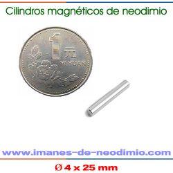 neodimio de cilindro magnético permanente