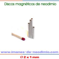 discos neodimio níquel recubrimiento