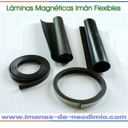 hoja magnética flexible lámina rollos
