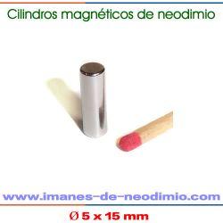 cilíndricos magnéticos de tierra rara