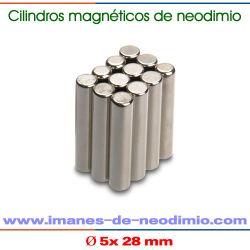 neodimio-hierro-boro cilíndrico