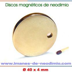 imán NdFeB sinterizado disco