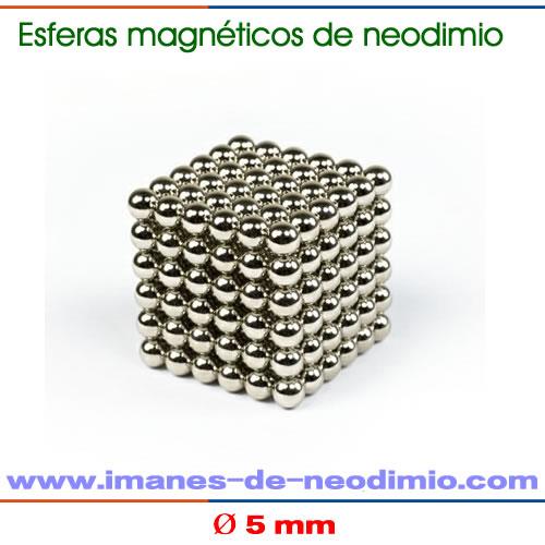 neocube 216 esferas iman neodimio niquelado