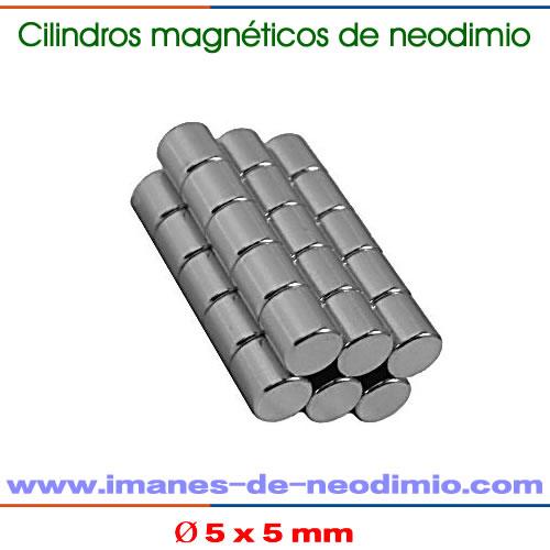 neodimio cilíndrico magnetización axial
