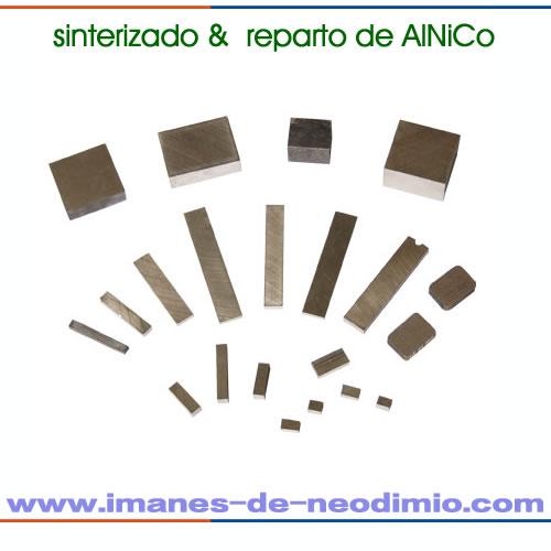 imanes bloque de AlNiCo