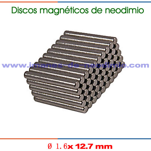 discos magnéticos de neodimio