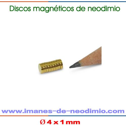 imanes permanentes disco circulares N50