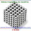 neocube 216 esferas iman neodimio 19mm
